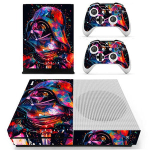 Film Star Wars Skin Sticker Decal For Xbox One S Console and Controllers for Xbox One Slim Skin Stickers Vinyl