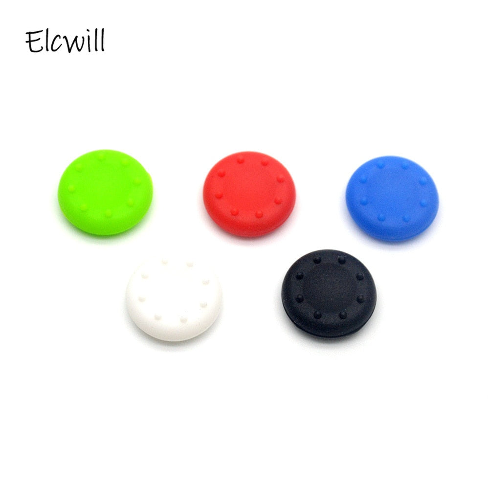2Pcs Silicone Controller Joystick Thumb Stick Grip Cap Case Cover for PlayStation 4 PS4 PS3 PS2 PS 4 PS 3 PS 2 Xbox 360 One Game