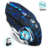 Wireless Gaming Mouse 2400 DPI Rechargeable Adjustable