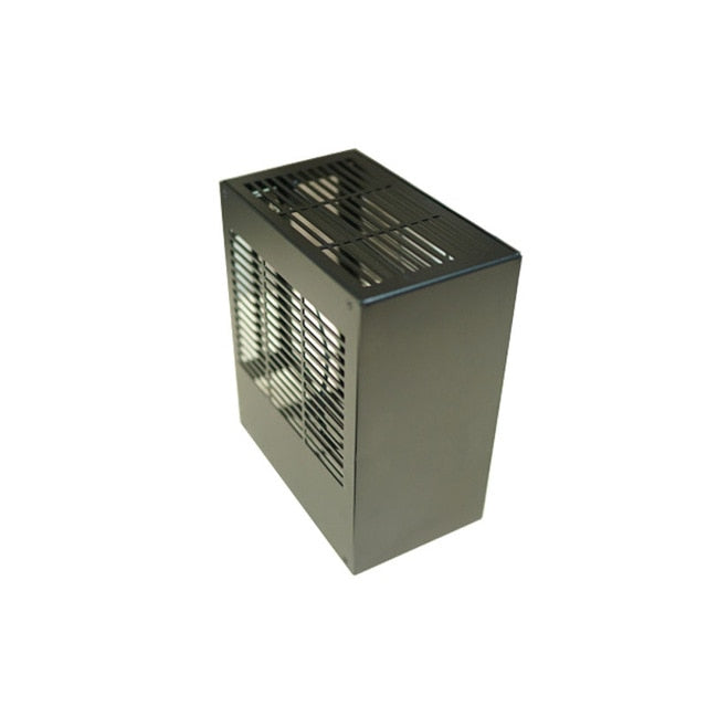 Computer Case HTPC Safe Cabinet ITX MINI Frame All-aluminum For Graphics Card RTX 2070 1660 i3 i5 i7 8700 K39 PC Gamer Chassis E