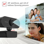 1080P Auto Focus HD Webcam Built-in Microphone High-end Video Call Camera Computer Peripherals Web Camera For PC Laptop