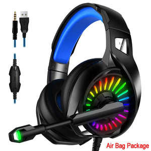 A20 PS4 Gaming Headphones 4D Stereo RGB Marquee Earphones Headset with Microphone for New Xbox One/Laptop/Computer Tablet Gamer