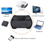Wireless Keyboard Bluetooth Backlit Mini Touchpad Usb Ergonomic Keypad