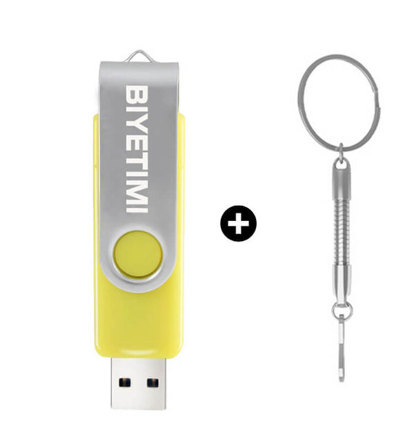 Biyetimi Multifunctional USB Flash Drive pendrive 64gb cle usb stick 32gb 16gb 8gb 4gb usb 2.0 Pen Drive for android/pc memoria