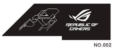 Bykski ASUS ROG Strix Helios GX601 Chasis Power Warehouse Customize Sideboard Panel Custom AURA 12V 4PIN Or 5V 3PIN Header