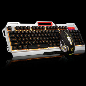 Pro Gamer Keyboard+6 Buttons 3200 DPI Pro Gaming Mouse Game Mice