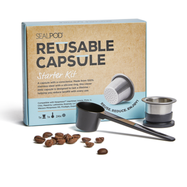 SEALPOD Reusable Coffee Capsule Starter Kit