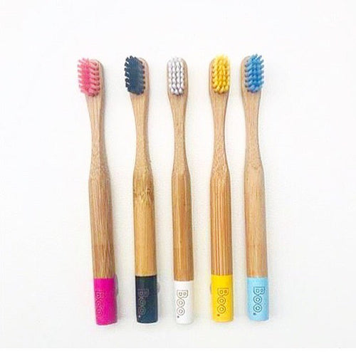 Boo Collective Bamboo Toothbrush - CHILD