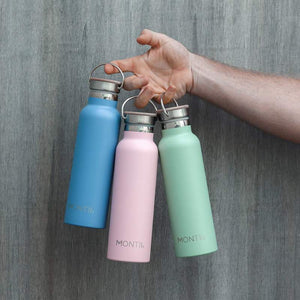 MONTIICO ORIGINAL DRINK BOTTLE - 600ML - MORE COLOURS AVAILABLE