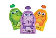 LITTLE MASHIES Reusable Pouch - 2 PACK