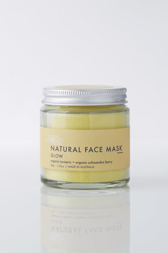 LOVE BEAUTY FOODS GLOW CLAY FACE MASK