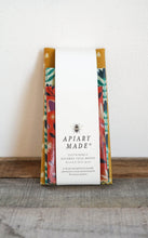 Load image into Gallery viewer, APIARY MADE ASSORTED THREE PACK BEESWAX WRAPS: COLOURFUL KITCHEN