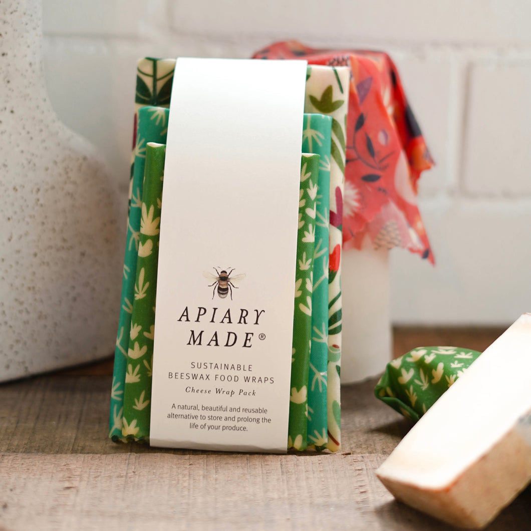 APIARY MADE CHEESE AND SMALL GOODS BEESWAX WRAP PACK