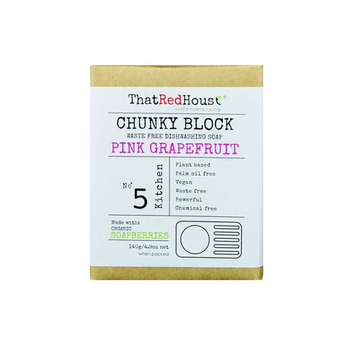 That Red House Waste free CHUNKY BLOCK - MULTI PURPOSE HOUSEHOLD SOAP