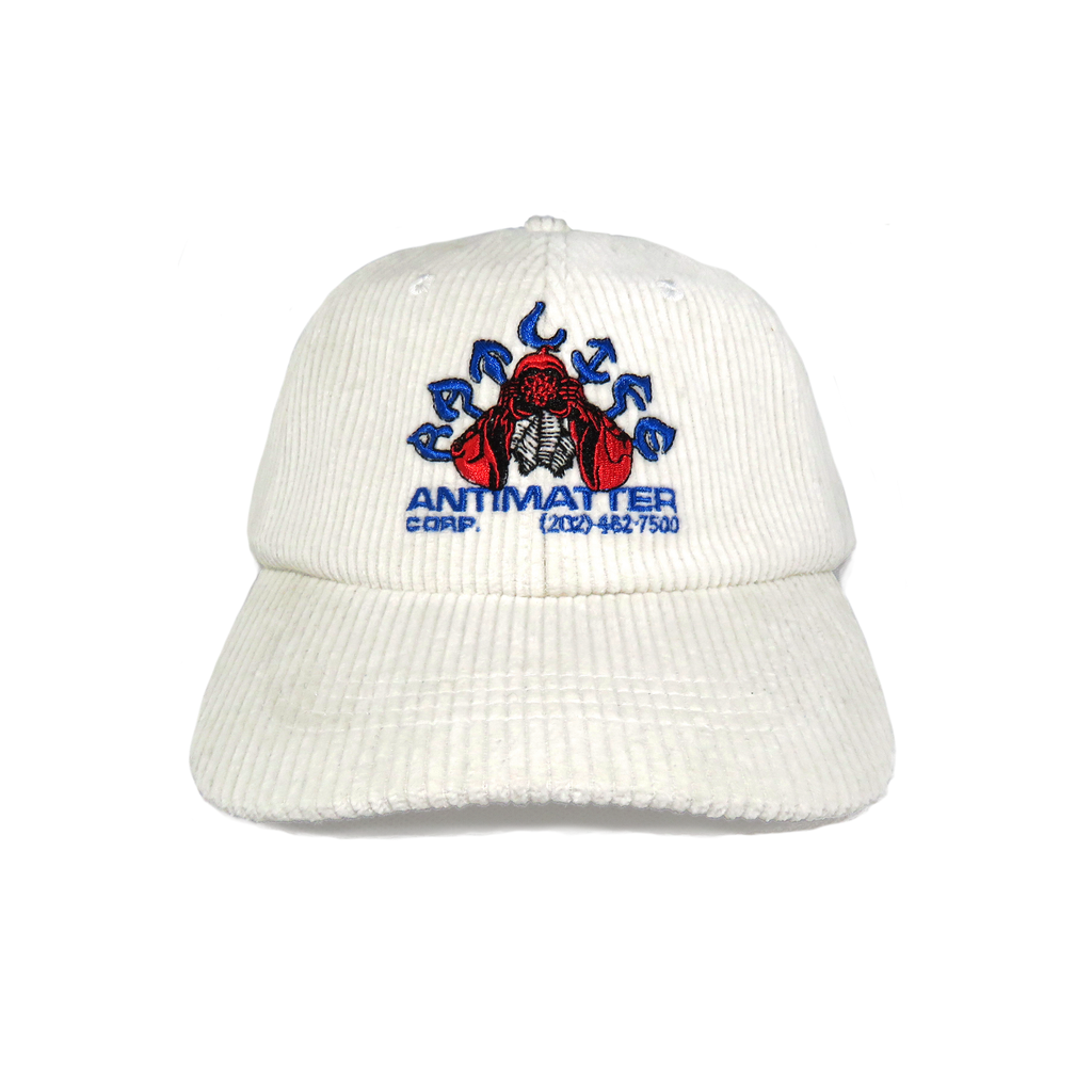 Antimatter Cord Cap, OFF WHITE