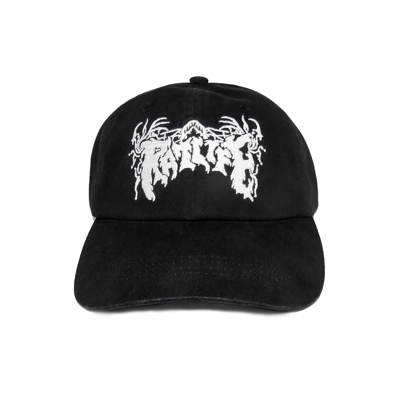 Hardwired Logo Cap, BLACK