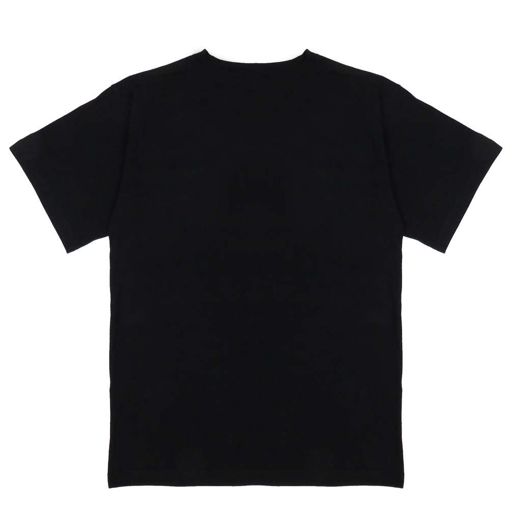 Metal Logo Tee, BLACK