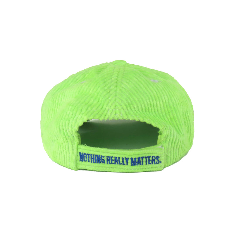 Antimatter Cord Cap, NEON GREEN