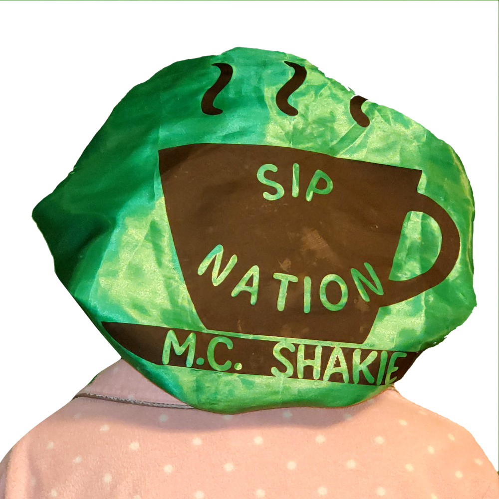SIP NATION PETTY GREEN BONNET