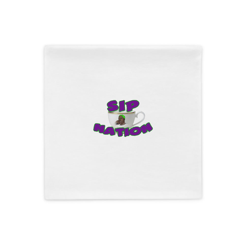 Sip Nation Pillow Case