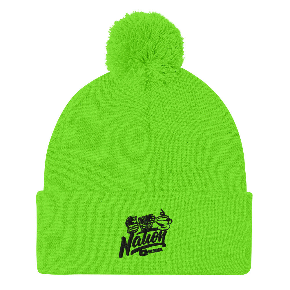 Sip Nation Pom-Pom Beanie