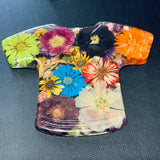 Hand-Pressed Floral Decor Shirt
