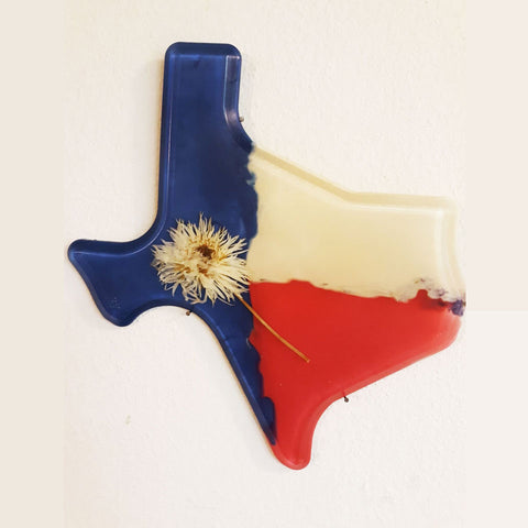 Texas Shaped Wall Decor