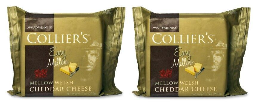 Collier's Easy Mellow Cheddar, 7 oz [Pack of 2]