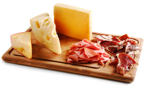 Charcuterie Meats and Cheeses
