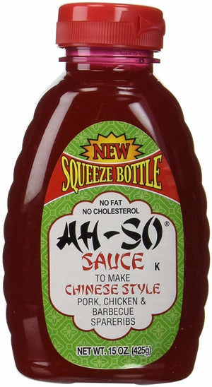 Ah-So Chinese Style BBQ Sauce Squeeze, 15 oz (Pack of 6)