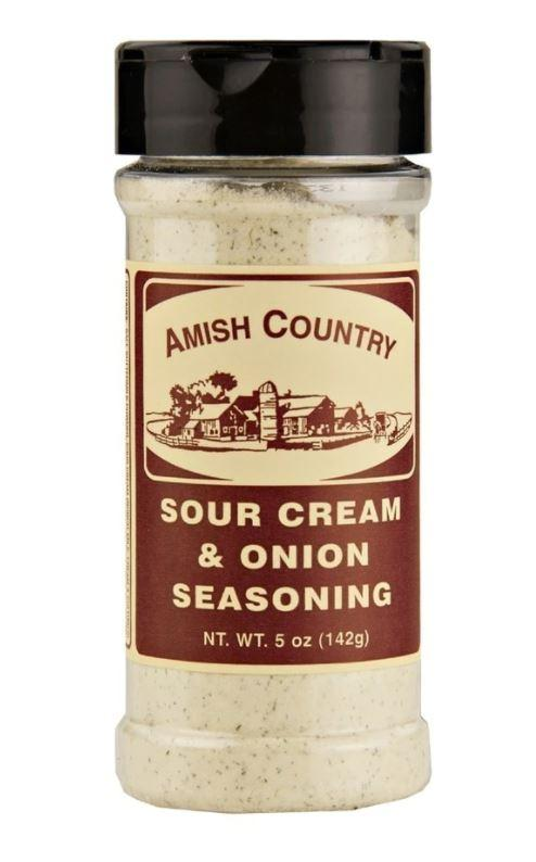 Amish Country Sour Cream & Onion Seasoning, 5 oz Pantry Amish Country Popcorn