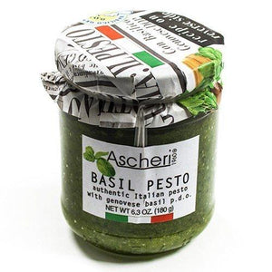Ascheri Authentic Italian Basil Pesto - 6.3 oz