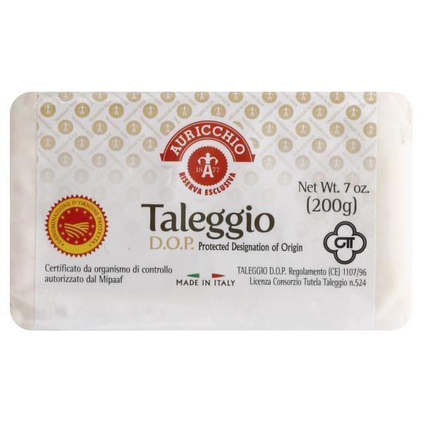 Auricchio Taleggio Dolce Wedges, 7 oz [Pack of 2]
