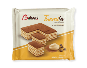 Balconi Torta Tiramisu Cake, 400 grams Sweets & Snacks Balconi