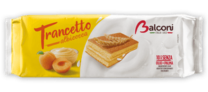Balconi Trancetto Snack Cakes with Apricot Cream Filling, 280 grams