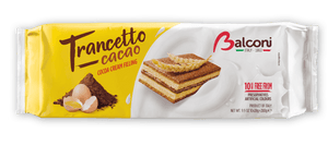 Balconi Trancetto Snack Cakes with Cocoa Cream Filling, 280 grams Sweets & Snacks Balconi