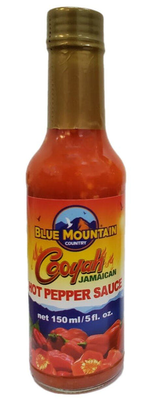Blue Mountain Country Cooyah Jamaican Hot Pepper Sauce - 150 ml