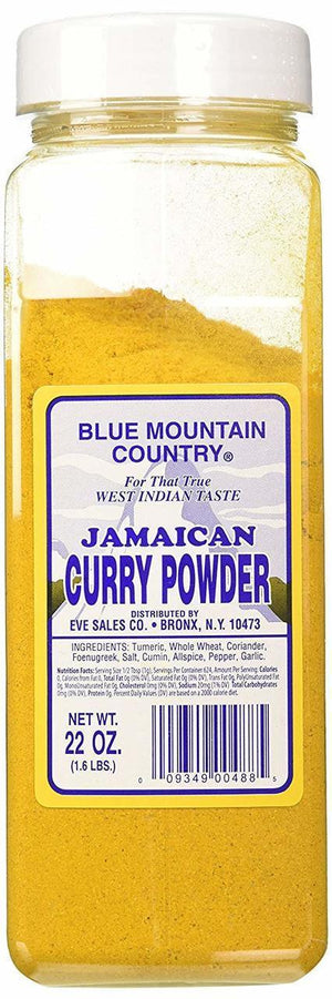 Blue Mountain Country Curry Powder - 22 oz.