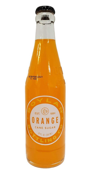 Boylan Cane Sugar Orange Soda, 12 oz