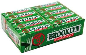 Brooklyn Chlorophyll Chewing Gum - 20 pack