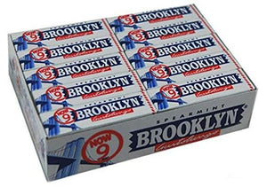 Brooklyn Spearmint Chewing Gum - 20 pack
