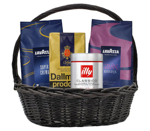 Build Your Own Coffee Gift Basket Bundle Supermarket Italy