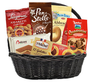 Build Your Own Sweets and Snacks Gift Basket Bundle Supermarket Italy
