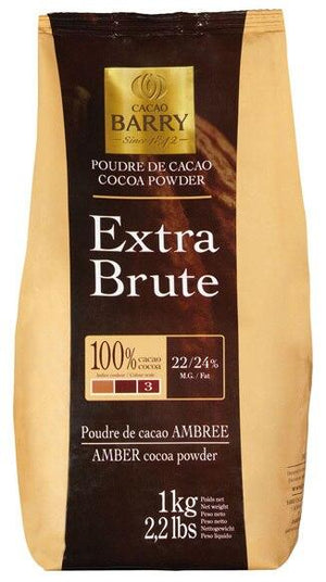 Cacao Barry Cocoa Powder Extra Brute - 2.2 lbs