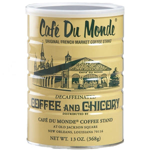 Cafe Du Monde Decaffeinated Coffee and Chicory - 13 oz.