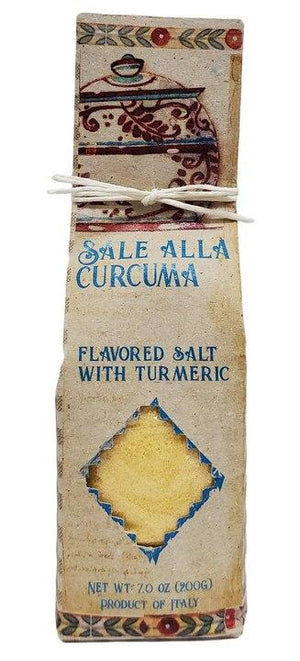 Casarecci Flavored Salt with Turmeric, 7 oz