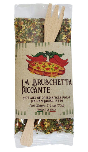 Casarecci Italian Bruschetta Hot Mix of Dried Spices, 2.4 oz