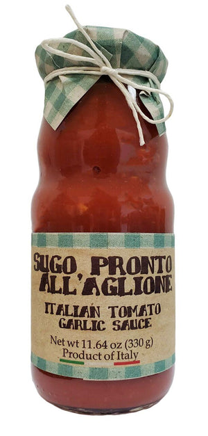 Casarecci Italian Pronto All'Aglinoe Tomato Garlic Sauce, 11.6 oz