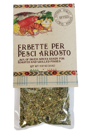 Casarecci Mix Dried Spices for Roasted and Grilled Fish, 3.5 oz