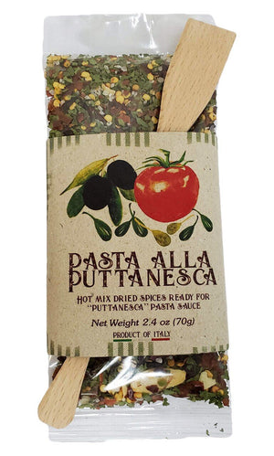 Casarecci Puttanesca Pasta Hot Mixed Dried Spices, 2.4 oz